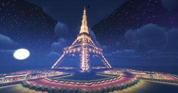 Eiffel Tower Minecraft Map & Project