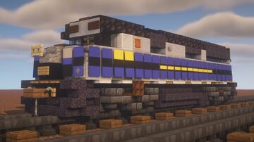 "CSX - EMD F40PH ""B & O Office Car"" Minecraft Map & Project"