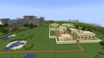 Final Fantasy IV - Kingdom of Baron Minecraft Map & Project
