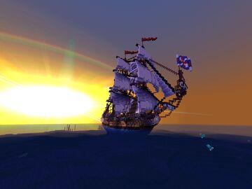 HMS RUPERT 1666 Minecraft Map & Project