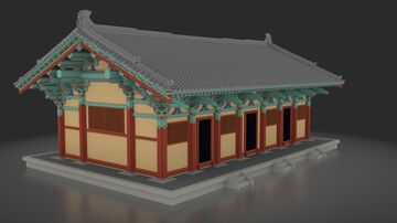 Jeongnimsa Temple, South Korea - 정림사터 Minecraft Map & Project