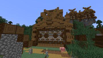 Viking Theme - Sugarcane Farm - [World Download] Minecraft Map & Project