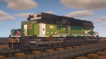 "BNSF - EMD SD60M ""BN"" Minecraft Map & Project"