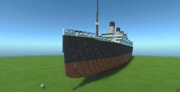 RMS Titanic 1912 1:1 Scale Minecraft Map & Project