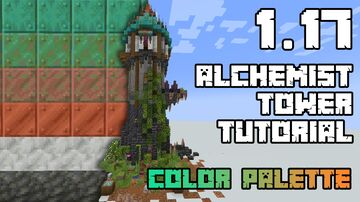 1.17 Alchemist Tower + color gradient Minecraft Map & Project
