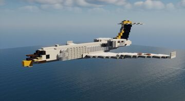 NC-37B - 1.5:1 Scale Minecraft Map & Project