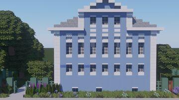 Дом актёра А.В. Семёнова в Вологде. / House of the actor A.V. Semyonov in Vologda. Minecraft Map & Project