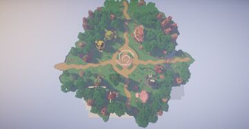 UltraPixel Pixelmon Spawn -- Pokemon Mystery Dungeon Style!! (Commission by magma) Minecraft Map & Project