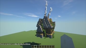 Free Medieval House Minecraft Map & Project