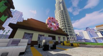 Donut shop Minecraft Map & Project
