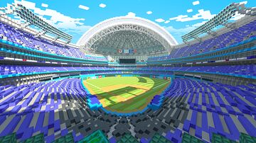MLB Home Run Derby | Client Work/Collaboration With The Misfit Society Minecraft Map & Project
