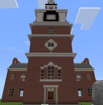 Independece Hall Minecraft Map & Project