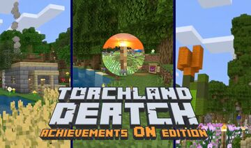 TorchLand Dertch: Achievements ON Edition Minecraft Map & Project