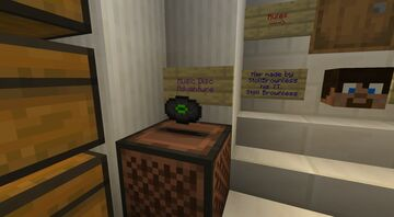 Music Disc Adventure Map Minecraft Map & Project