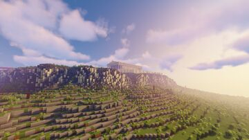 Acropolis of Athens Minecraft Map & Project