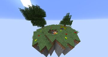Floating Island for SkyBlock Island, Mini Waiting Lobby/Hub Free Map Download Minecraft Map & Project