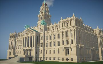 Old Wayne County Building Minecraft Map & Project
