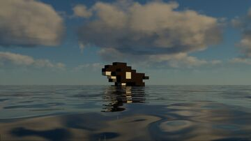 An Orca With Only 50 Blocks Minecraft Map & Project