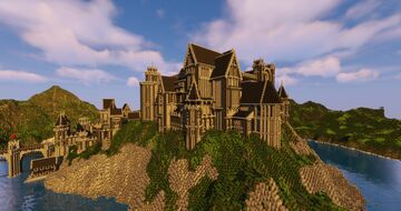 ALBACOIS - Plain Hill Castle Minecraft Map & Project