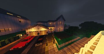 A map for a roleplay modded Fortress city 1.7.10 Minecraft Map & Project