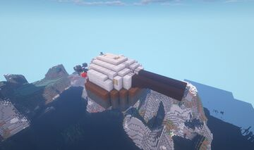 HST Mark III - Adjustable Arc super-heavy TNT Cannon turret Minecraft Map & Project