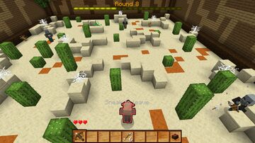 Villager Avengers | 1-10 players | 3rd player shooting game Minecraft Map & Project
