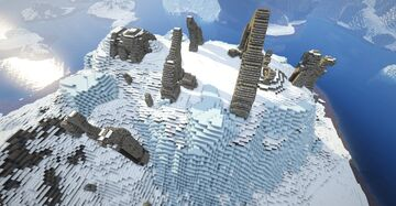 Skytemple Ruins (Skyrim TES) Minecraft Map & Project