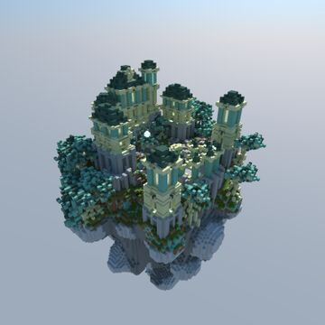 Floating island Hezaren-by Redrogar Minecraft Map & Project