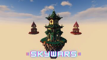 Skywars(map) 4Players Minecraft Map & Project