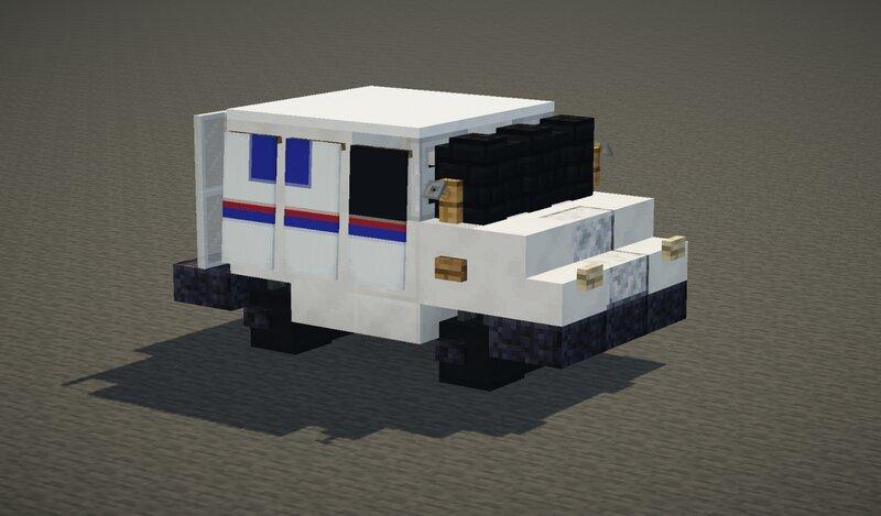 Grumman LLV Mail Truck (USPS)