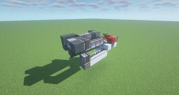 X-VRC  -  Adjustable Propellant Cannon ( Adjustable Range | Scattershot | Prototype | Precision ) Minecraft Map & Project