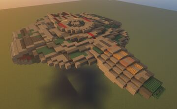 USS Defiant (NX-74205 / NCC-75633) (1:3 Scale) Minecraft Map & Project