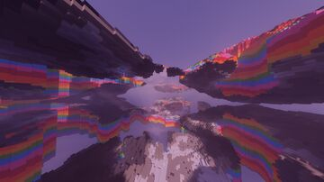 Psychedelic - 1024x1024 Custom Worldpainter Concept Map Minecraft Map & Project