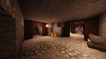 Underground Maze/Labirinto Subterrâneo Minecraft Map & Project