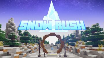 SnowRush - Race Minigame Map Minecraft Map & Project