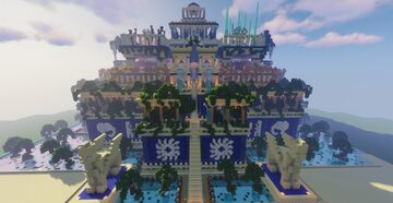 Hanging Gardens of Babylon / Wonder of the Ancient World Minecraft Map & Project