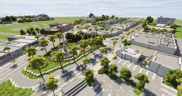Suburb Replica - Normandy Dr, Miami Beach, Florida Minecraft Map & Project