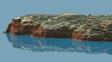 Ocean Dunes 2048х2048 [DOWNLOAD] Minecraft Map & Project