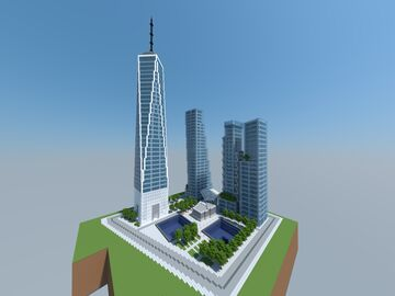 New World Trade Center (One WTC), New York, United States of America Minecraft Map & Project
