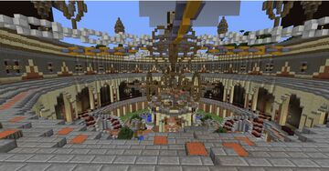 FACTION MAP (800x800)  WITH SHOP AND ENCHANT ROOM  [20 DIAMONDS --> DOWNLOAD] Minecraft Map & Project