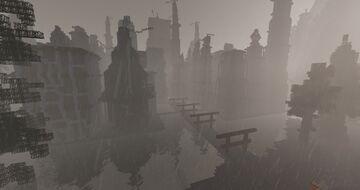 Hidden Rain Village / Amegakure - Naruto Roleplay Adventures Minecraft Map & Project