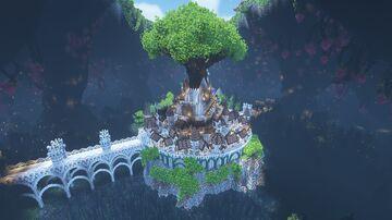 Underground Crystal Kingdom [1k/1k] 1.16.5 Minecraft Map & Project