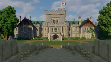 Hatley Park Minecraft Map & Project