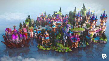 Beautiful Aronia Kingdom Minecraft Map & Project