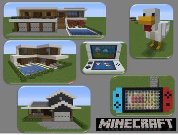 Coleccion de Casas 3 (Houses Collection 3) by AdrielVR Minecraft Map & Project