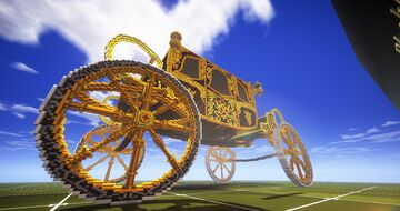 The Queen's Carriage on Minecraft. Minecraft Map & Project