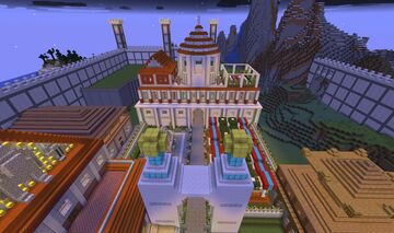 Curia Omnes Coloniarum Minecraft Map & Project