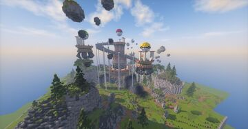 Pokemon Elite Four Build (Commission by magma) Minecraft Map & Project