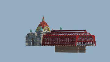 Central Station, Antwerp, Belgium Minecraft Map & Project