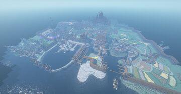Aldinnheimr (ALD) Shipyard and docks Minecraft Map & Project